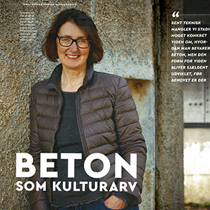 Interview i Magasinet Beton